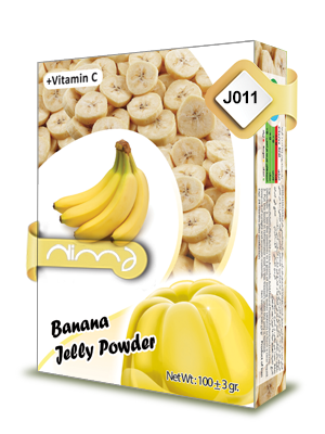 Banana Jelly powder
