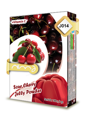 Sour Cherry Jelly Powder