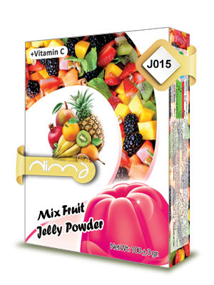 Mixed Fruits Jelly Powder