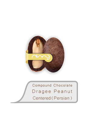 Compound Chocolate Dragee Peanut Centered (Persian)